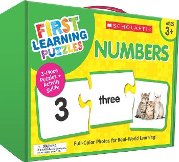 First Learning Puzzles - Numbers