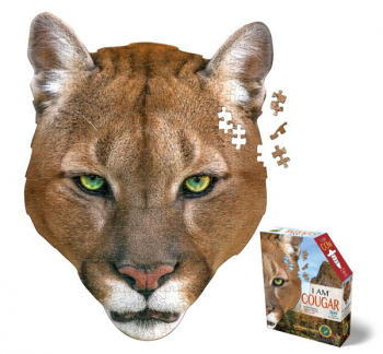 I AM Cougar Mini Puzzle 300 pieces (Madd Capp Mini Puzzles)