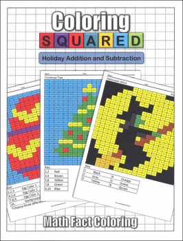 Coloring Squared: Holiday Addition and Subtraction