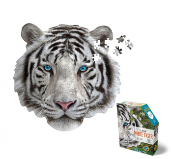 I AM White Tiger Mini Puzzle 300 pieces (Madd Capp Mini Puzzles)