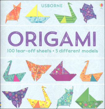Origami (100 tear-off sheets - 5 different models)