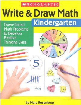 Write & Draw Math - Kindergarten
