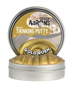 "Gold Rush Putty with Magnet 4"" Tin (Super Magnetics)"