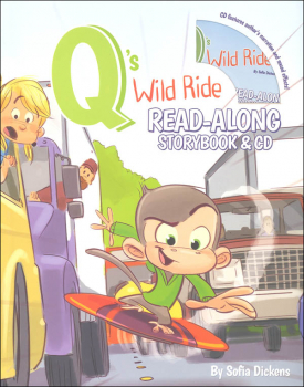 Q's Wild Ride CD & Storybook