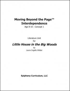 Little House in the Big Woods - Additional Set of Student Activity Pages