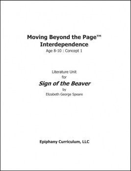 Sign of the Beaver - Additional Set of Student Activity Pages