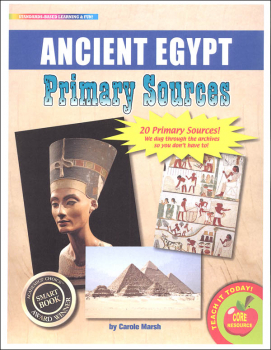 Primary Sources Ancient Egypt