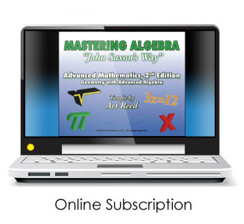 Mastering Algebra - Advanced Mathematics: Geometry with Advanced Algebra 2nd Edition Online Video Access (24-month subsc