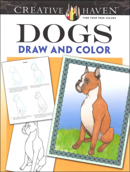 Dogs Draw and Color (Creative Haven)