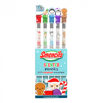 North Pole Smencils (Set of 5)