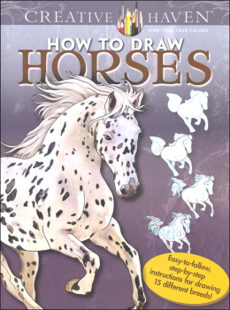 How to Draw Horses (Creative Haven)
