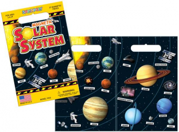 Solar System Magnetic Playset