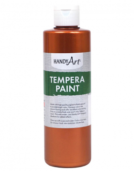 Copper Metallic Tempera Paint 8 oz