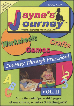 Jayne's Journey Through Preschool Volume II CD-ROM