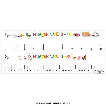Student Number Line Double-Sided