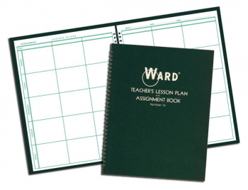 Ward Lesson Plan Book-6 Period Regular