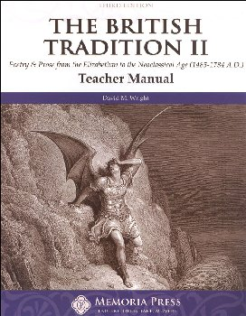Poetry & Prose Book II: Elizabethan to the Neo-Classical Age Teacher Guide, Third Edition