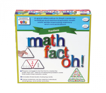 Math-Fact Oh! Fractions