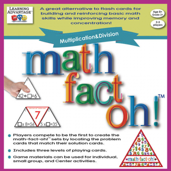 Math-Fact Oh! Multiplication & Division Game