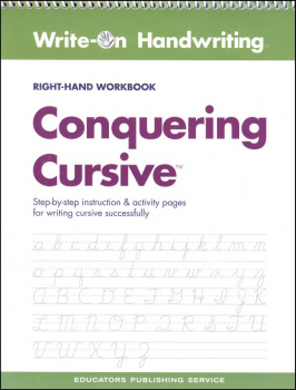 Conquering Cursive Right-Hand Workbook