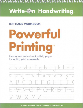 Powerful Printing Left-Hand Workbook