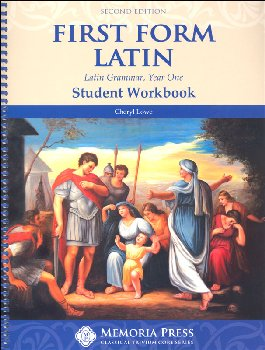 First Form Latin Student Workbook 2nd ed.