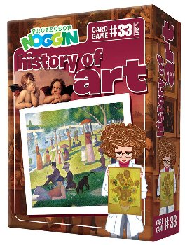 Prof Noggin's History of Art Card Game