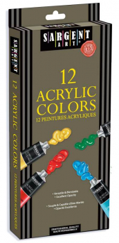 Acrylic 12 Tube Paint Set