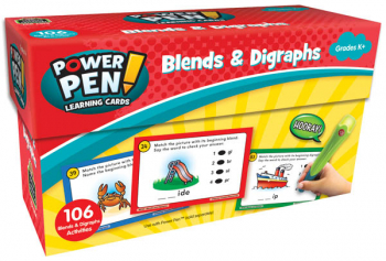 Power Pen Learning Cards - Blends & Digraphs