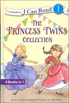 Princess Twins Collection 4-in-1 Book (I Can Read! Beginning 1)
