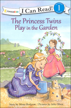 Princess Twins Play in the Garden (I Can Read! Beginning 1)