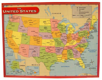 United States Map Chart
