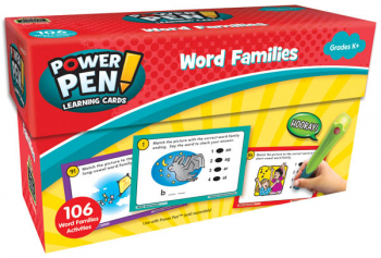 Power Pen Learning Cards - Word Families