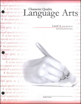 Character Quality Language Arts Level A (Red Series)