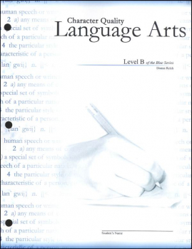 Character Quality Language Arts Level B (Blue Series)