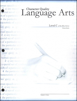 Character Quality Language Arts Level C (Blue Series)