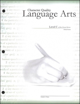 Character Quality Language Arts Level C (Green Series)