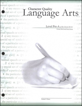 Character Quality Language Arts Level Pre A (Green Series)