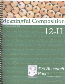 Meaningful Composition 12-II : The Research Paper