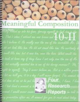 Meaningful Composition 10-II: Four Research Reports