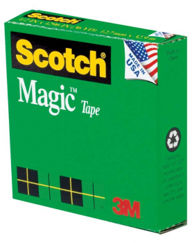 "Scotch Magic Tape 3/4""x1000"" Refill Roll"