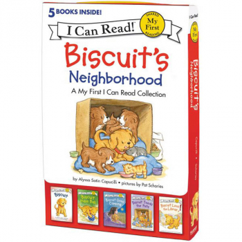 Biscuit's Neighborhood: 5 Fun-Filled Stories in 1 Box! (I Can Read! My First)