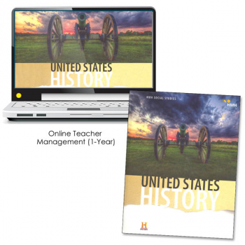 United States History Homeschool Package