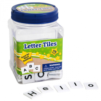 Letter Tiles: 176-Piece Learning Set