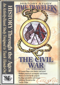 Time Travelers History Study CD: The Civil War