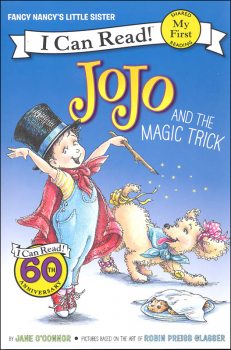 Fancy Nancy: JoJo and the Magic Trick (I Can Read! My First)