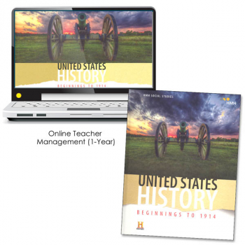 United States History: Beginnings to 1914 Homeschool Package