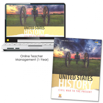 United States History: Civil War to the Present Homeschool Package