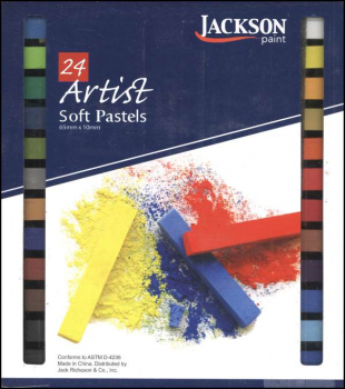Jackson Assorted Soft Pastels Set of 24