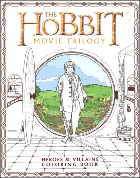 Hobbit Movie Trilogy Heroes and Villains Coloring Book